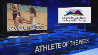 KOAA Athlete of the Week: Hannah Simental, Pueblo West Lady Cyclones