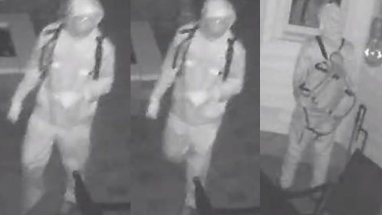 Virginia Beach Police looking for Christmas Day burglar