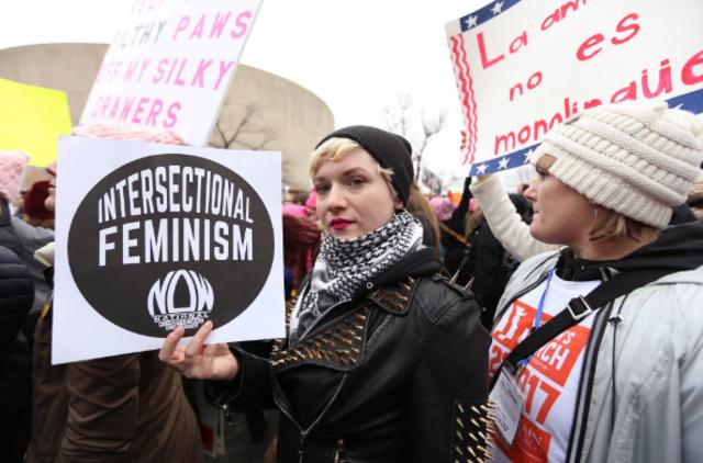 Women's March floods Washington D.C.