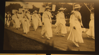 women's suffrage exhibit hermitage hotel