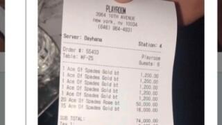 Jay-Z racks up epic bar tab for 40 bottles of champagne brand he owns