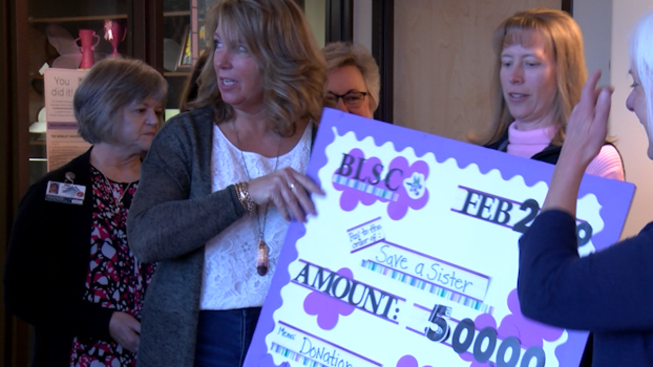 Bigfork Ladies Service Club donate funds to Kalispell hospital organizations