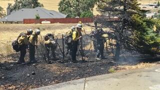 Brush Fire in Tehachapi
