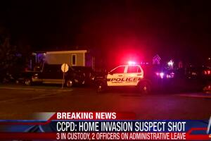 CCPD investigates officer-involved shooting