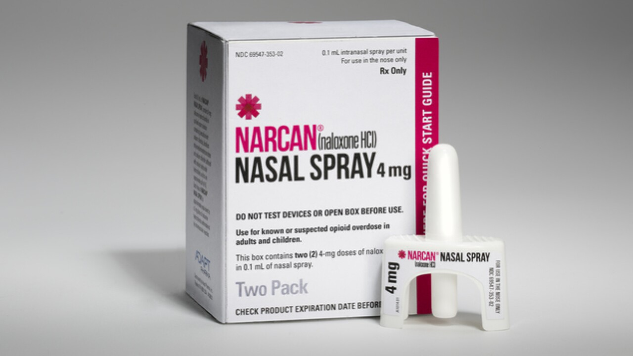Narcan training sessions on tap