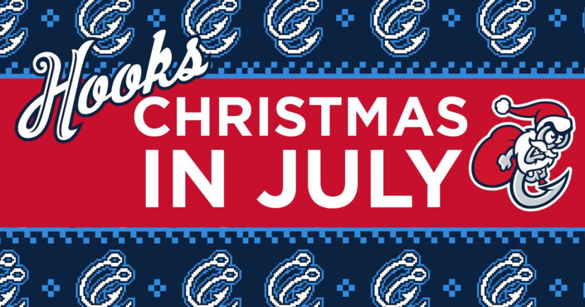 It's Christmas in July at Whataburger Field