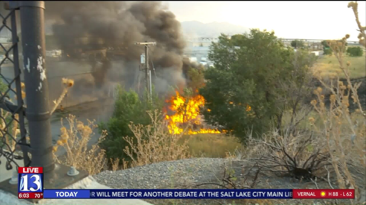 Fire considered suspicious after RV destroyed in Salt Lake City
