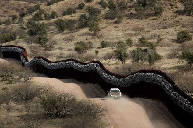 International border in Tucson Sector