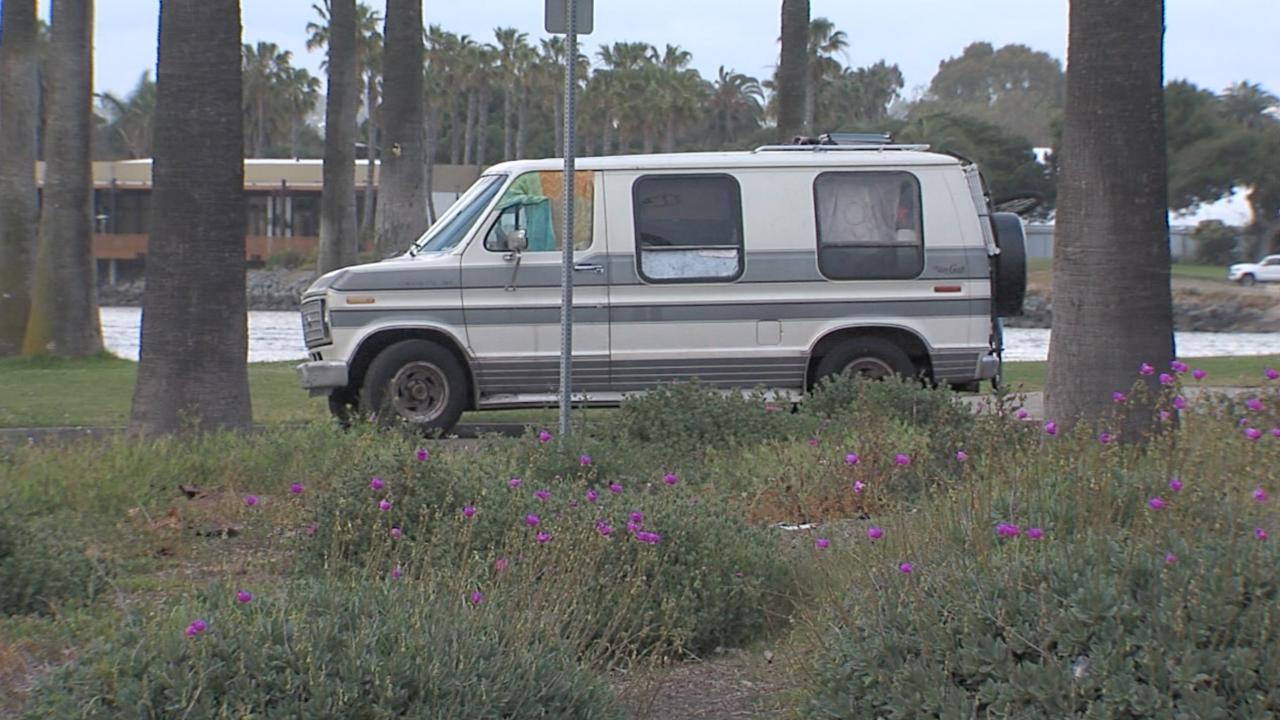Van in Mission Bay