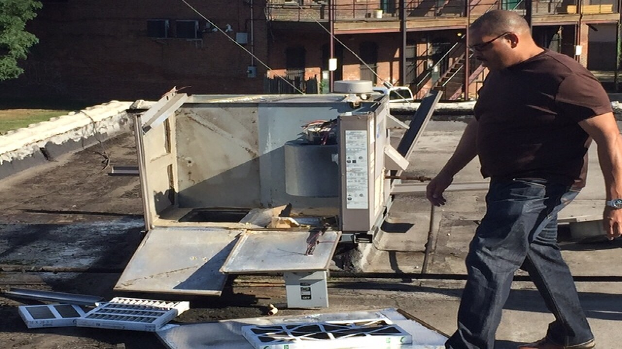 Thieves strip A/C units from CLE senior center