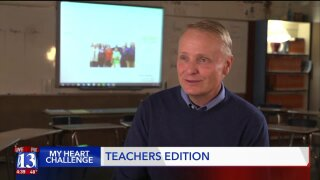Taylorsville High teacher drops more than 40 lbs. in Intermountain Medical Center My HeartChallenge