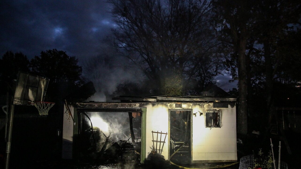 Firefighters respond to early morning garage fire in Virginia Beach