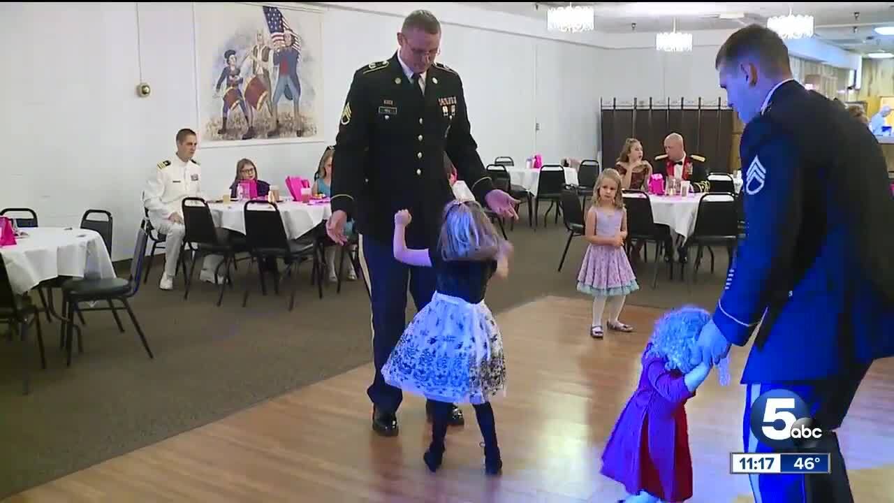 USO father daughter dance Avon Lake