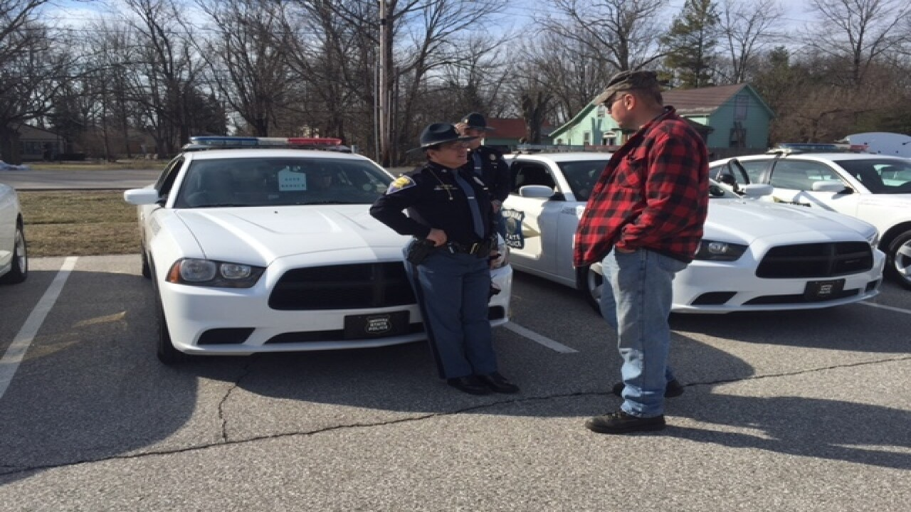 Indiana State Police Troopers get new cars