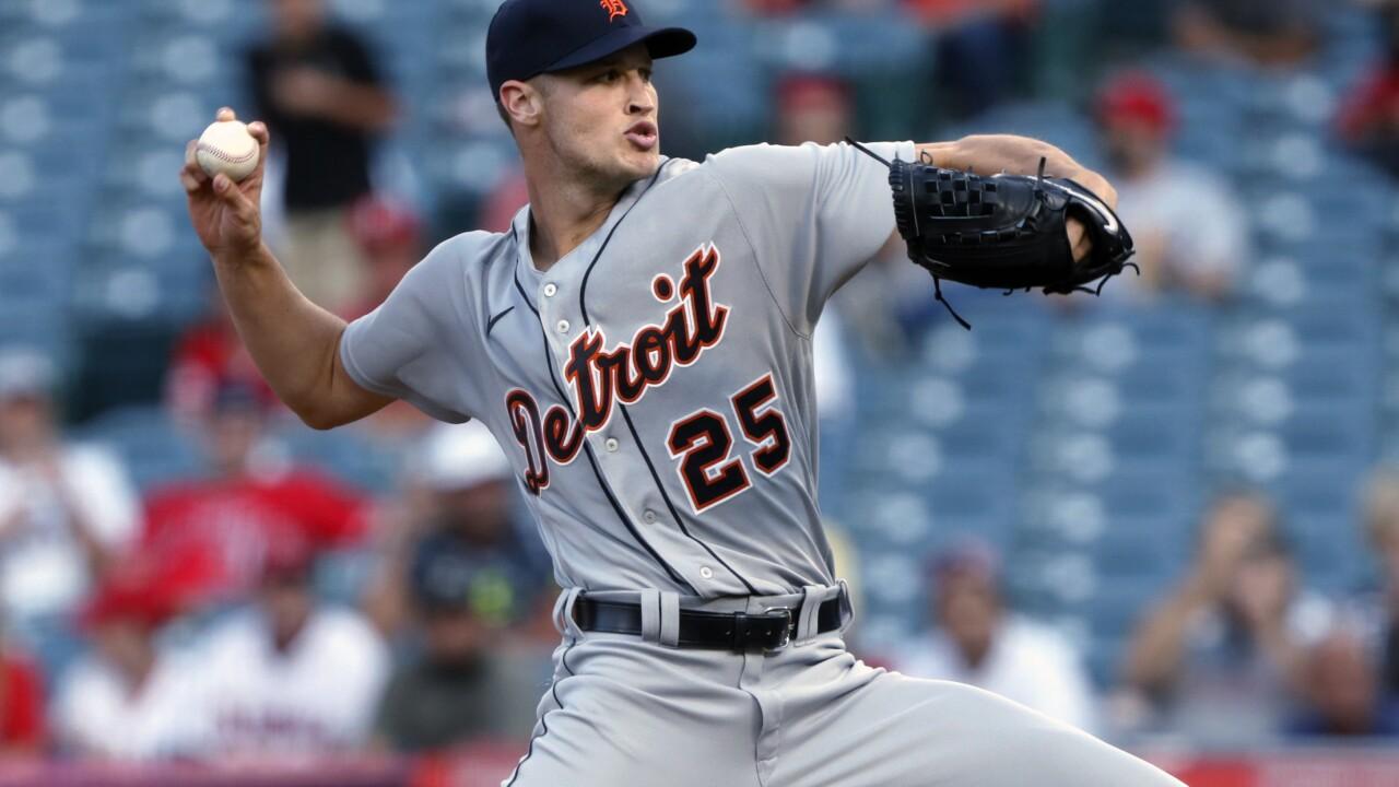 Matt Manning Tigers