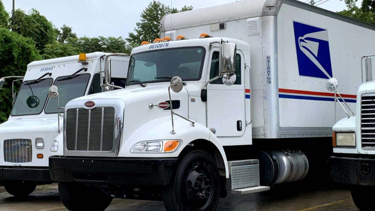 USPS's operational changes are causing some trucks to travel across the country with no mail
