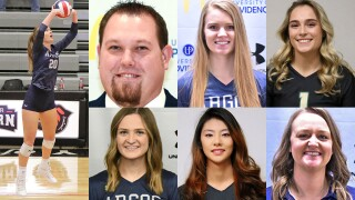 2021 all-Frontier Conference volleyball