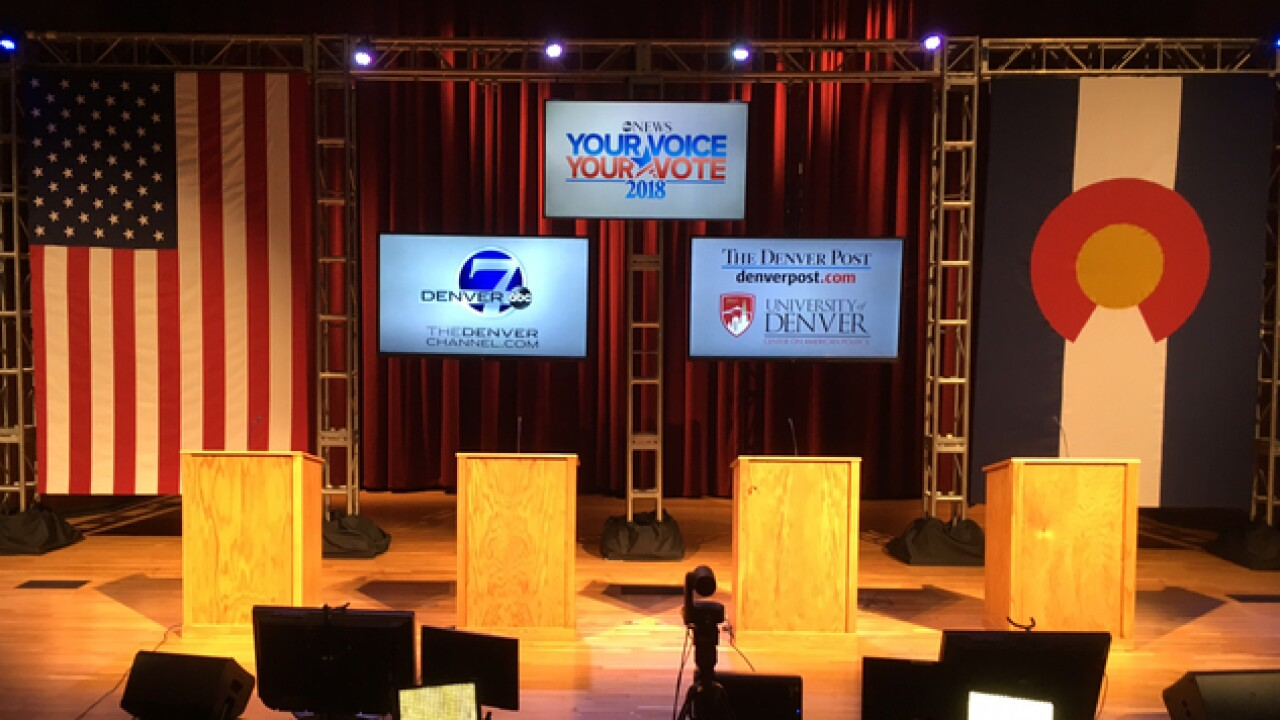 Live blog: Democratic gubernatorial debate