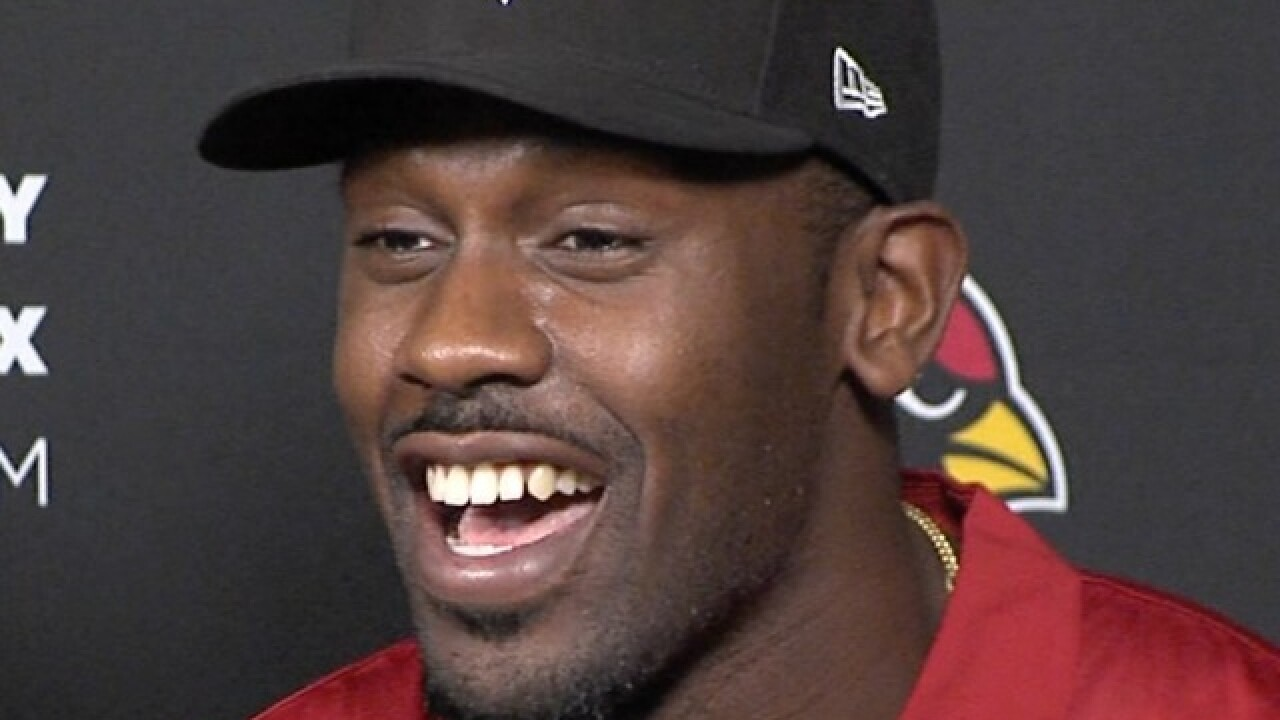 Watch the Cardinals' Chandler Jones destroy a valuable piece of training equipment
