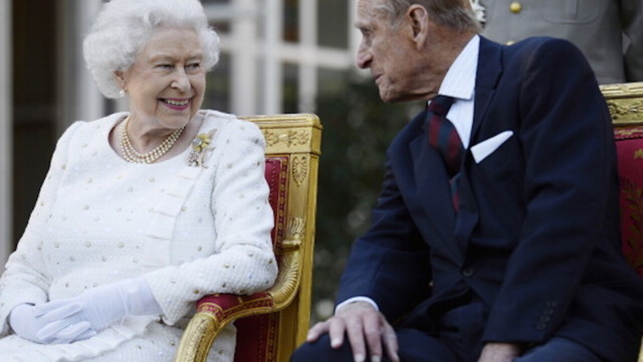 Queen Elizabeth and Prince Philip of England are both ill