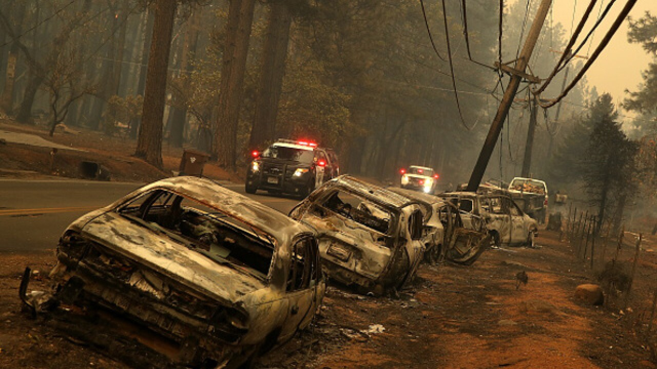 Camp Fire 'pretty much' destroys NoCal town