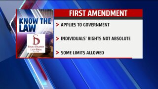 Know the Law – First Amendment