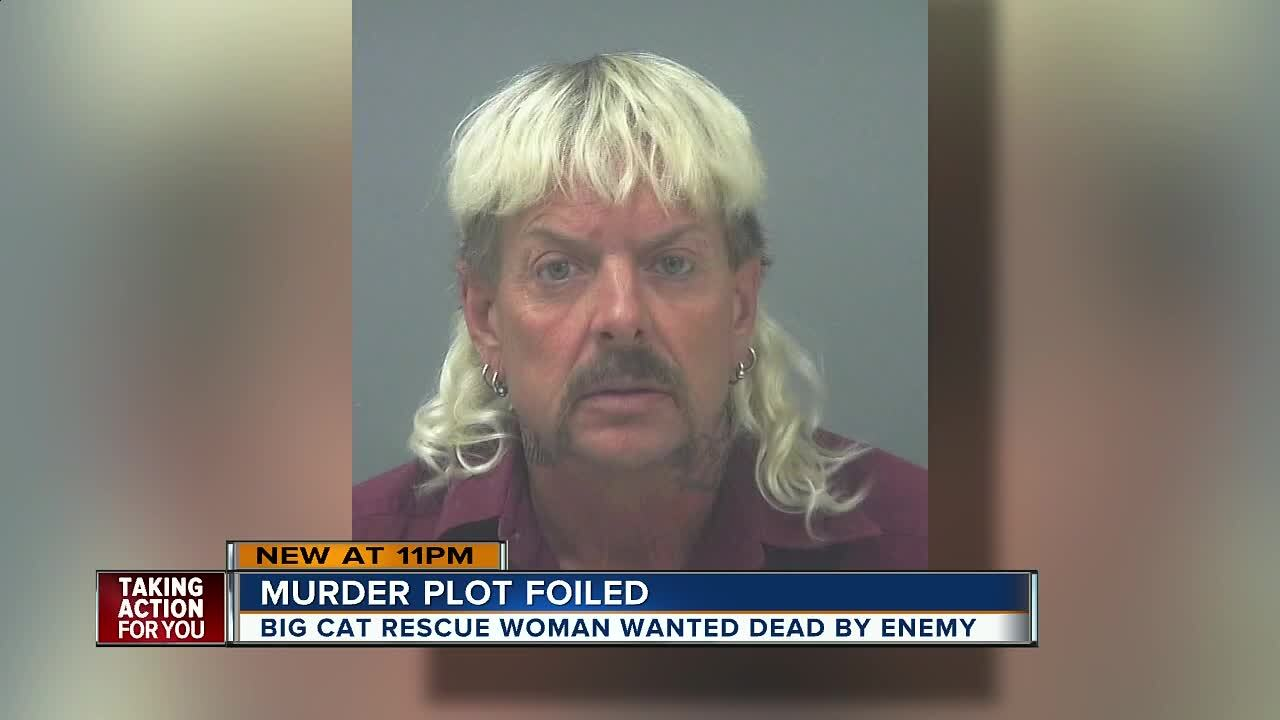 Joe Exotic' indicted for trying to hire someone to murder the CEO of