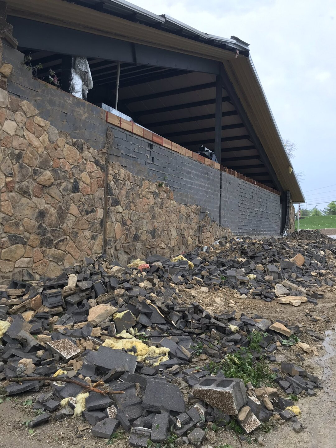 PHOTOS: Tornado leaves behind extensive damage in Jefferson City