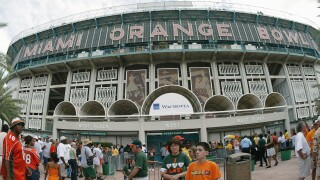 Hurricanes to Play Panthers on Old Orange Bowl Grounds