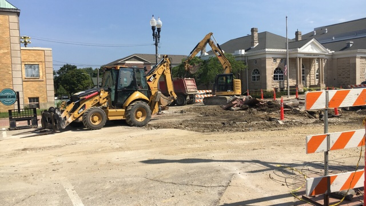 Lebanon construction hopes to revitalize area