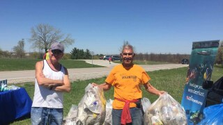 Lake Zorinsky clean up