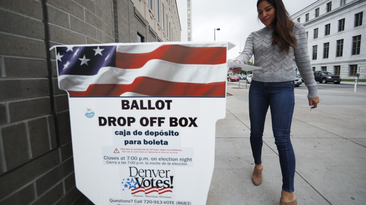 Colorado implements ballot tracking for November's election