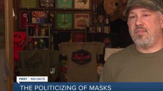 Owner pulls gun after customer ignores 'no-mask' mandate