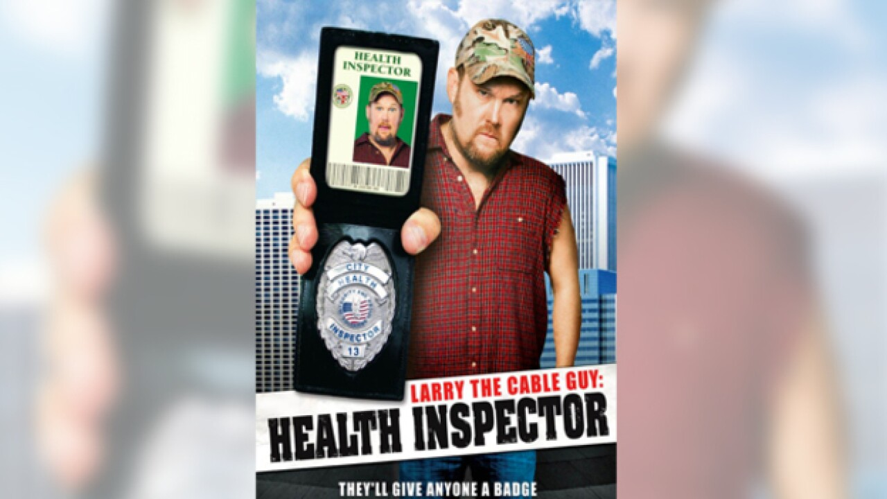 Tennessee's Favorite 'Bad' Movie Is 'Larry The Cable Guy: Health Inspector'