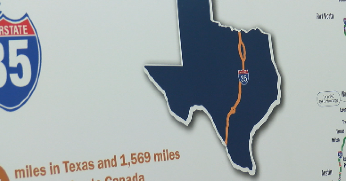 Map Of Texas I 35.Txdot To Make Sure Waco Community Is Prepared For I 35 Construction