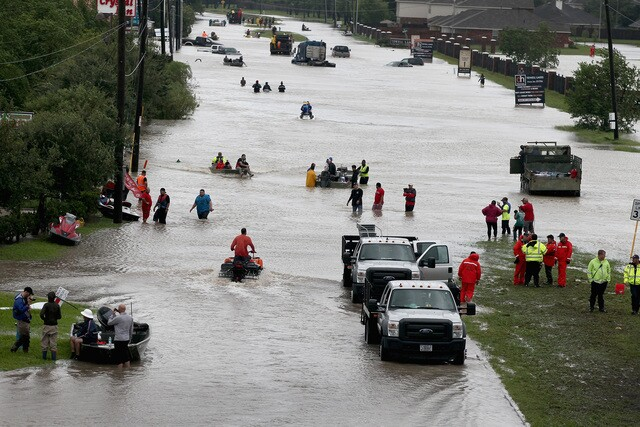 Hurricane Harvey rescue efforts