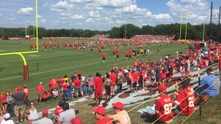 PHOTOS: Fans head to St. Joseph for Chiefs Training Camp