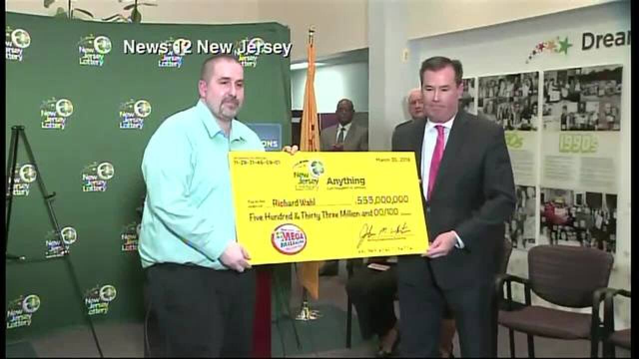Winner of Mega Millions jackpot is from Michigan