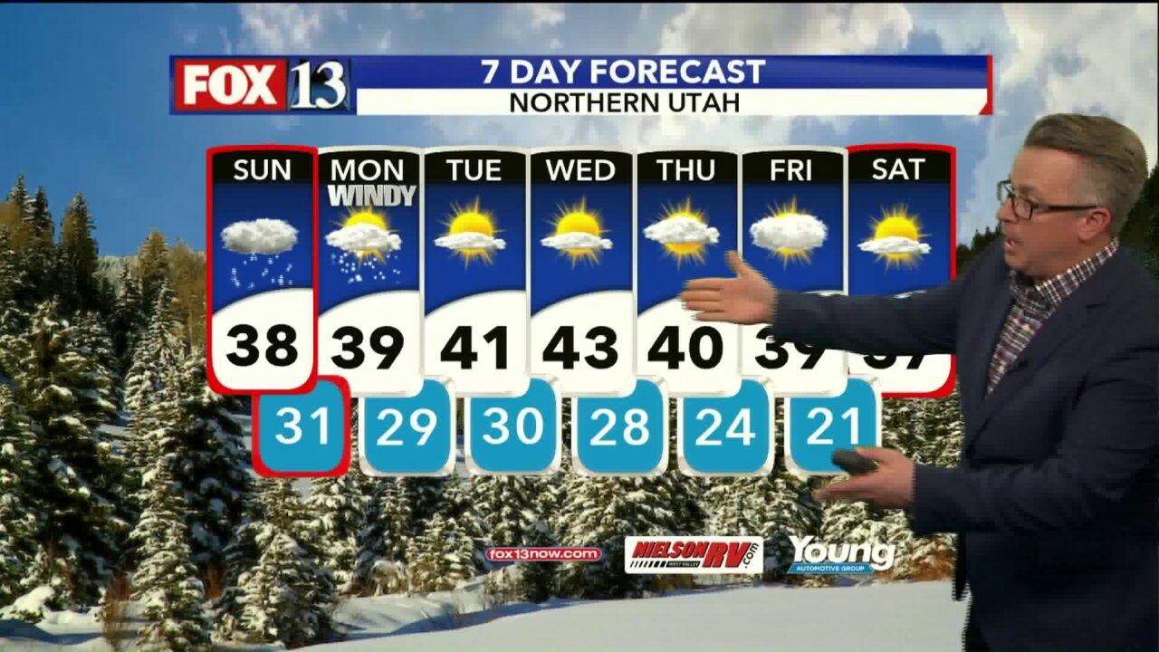 Winter storm brings snow and freezing rain to many parts of thestate