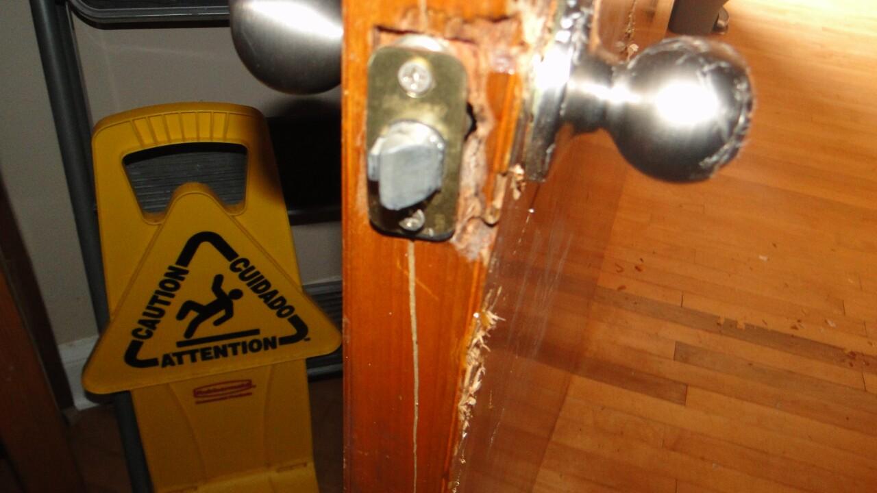 Robstown church vandalism