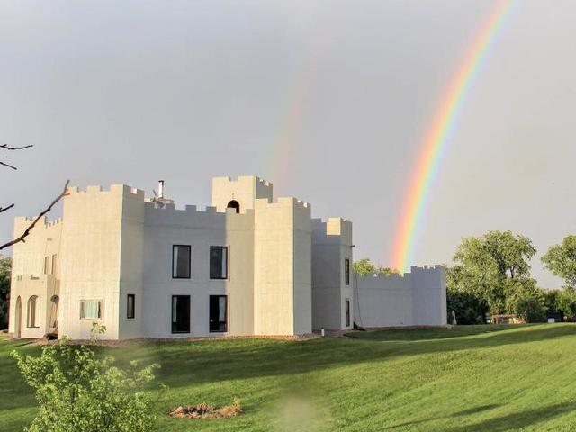 Live like a king, or queen, in this 1,000 square foot castle in Beaver Dam
