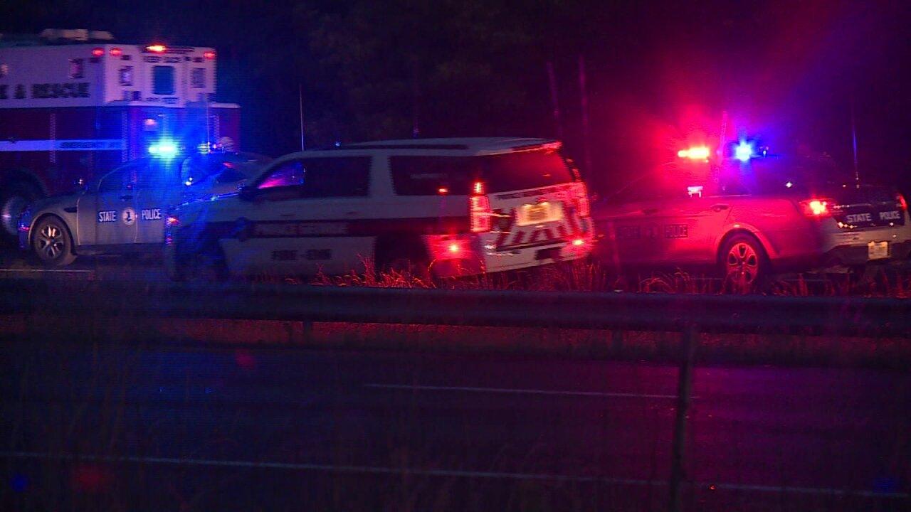 Man, woman critically injured in I-95crash