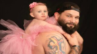 Single Dad Wore A Tutu To Match His Baby Daughter In An Adorable Photo Shoot