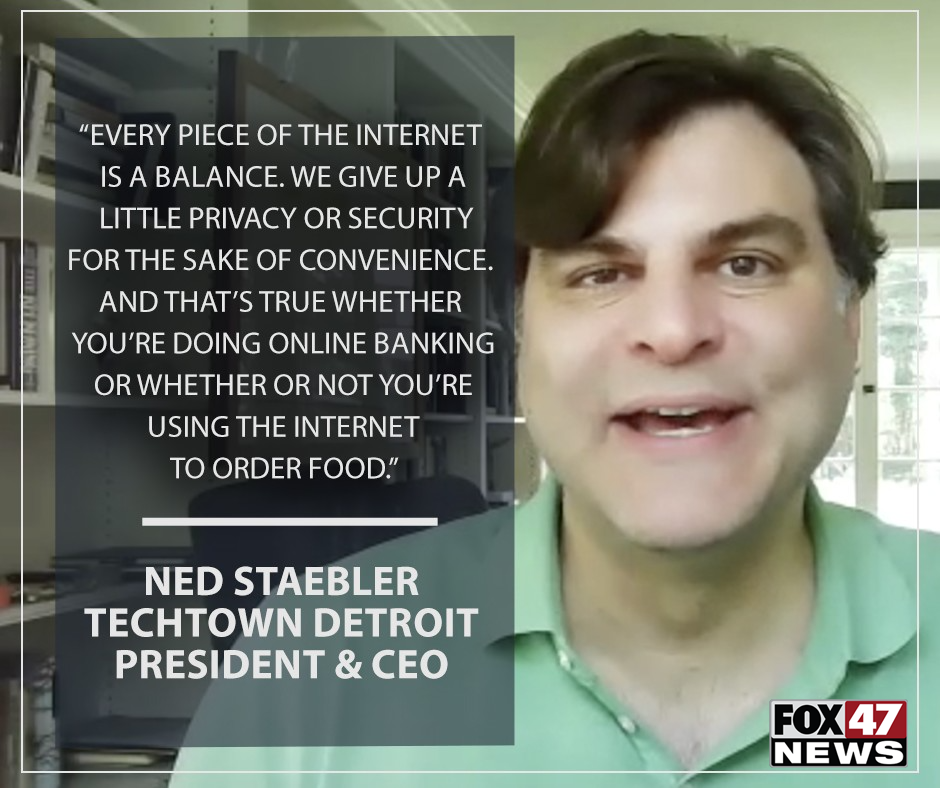 Ned Staebler, TechTown Detroit's president and CEO