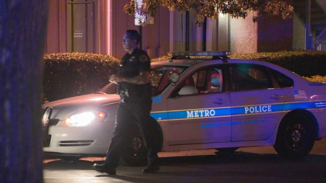 Man Shot In Attempted Robbery At Nashville Motel