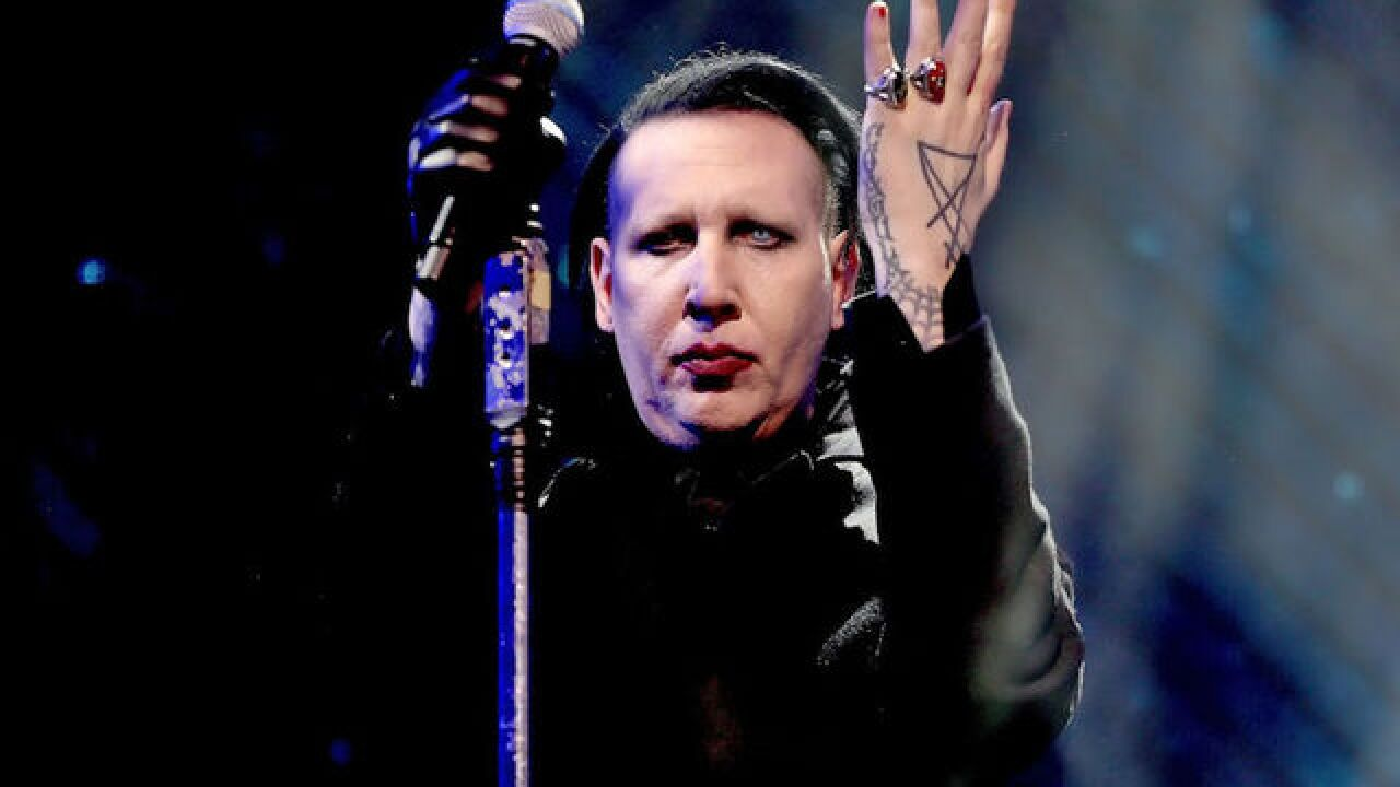 Marilyn Manson collapses on stage at concert in Texas