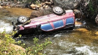 July 22 2019 water rescue in Boulder County