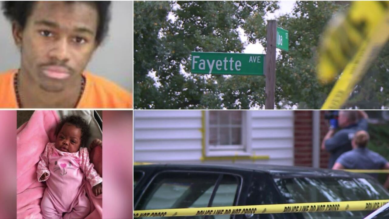 Man charged in connection to Henrico 1-year-old's shootingdeath