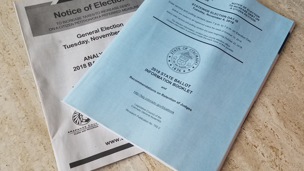 State outlines how to get Colorado voting 'blue book' after issues in printing, mailing