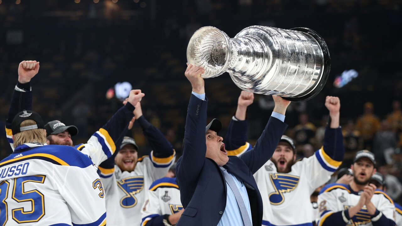 Craig_Berube_Stanley_Cup_2019 NHL Stanley Cup Final - Game Seven